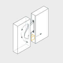 Automatic door locking systems